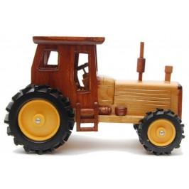 Сувенир от дърво - трактор, ръчна изработка