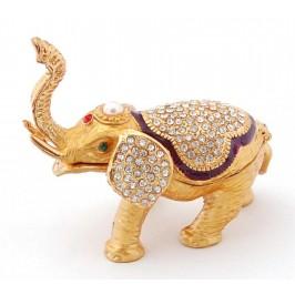 Кутия за бижута във формата на слон - фаберже