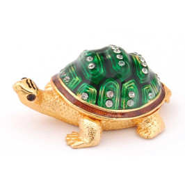 Кутия за бижута във формата на костенурка - фаберже