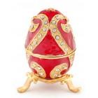 Кутия за бижута във формата на яйце - фаберже
