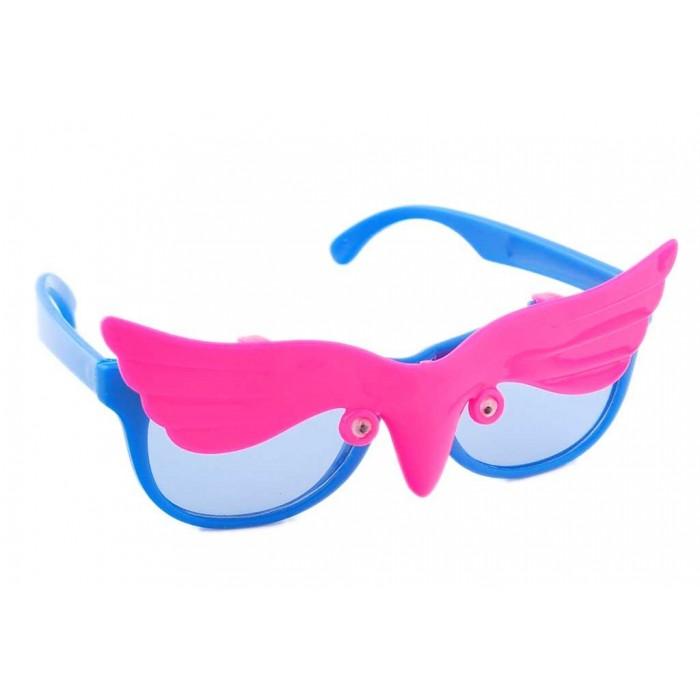 Малки карнавални очила с капаче - тип сенник във формата на бухал