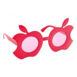 Малки карнавални очила във формата на отхапани ябълки