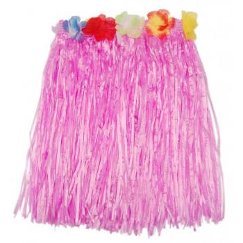 Парти артикул - хавайска пола с цветя