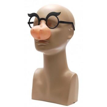 Забавни очила с нос във формата на гърди