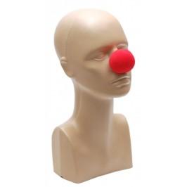 Парти артикул - клоунски нос, изработен от донапрен