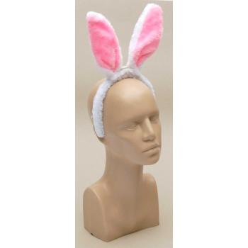 Парти артикул - светеща диадема тип заешки уши