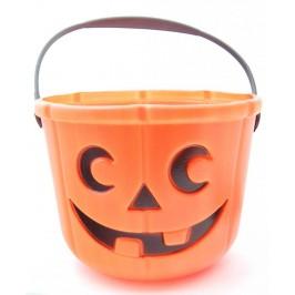 Парти артикул - кошница във формата на тиква с дръжки