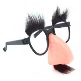 Парти аксесоар - очила с нос, вежди и мустаци