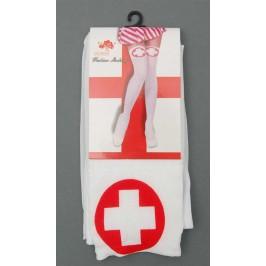 Дълги парти чорапи, тип медицинска сестра