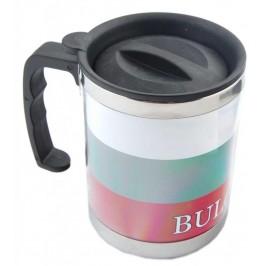 Сувенирна чаша - термос с цветовете на българското знаме и надпис България