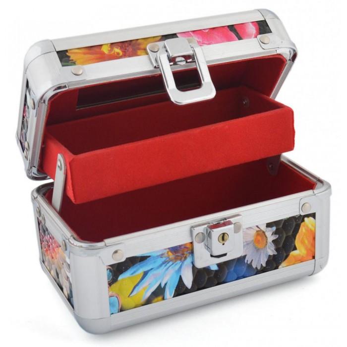 Метална кутия за бижута със секретно заключване
