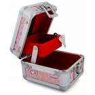 Стилна кутия за бижута от метал