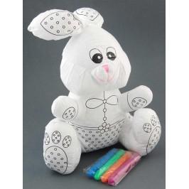 Кукла с възможност за оцветяване с помощта на 4бр маркера