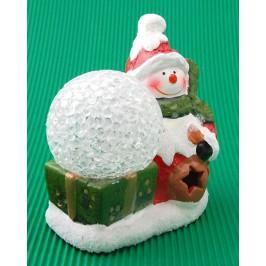 Коледна фигурка със светеща топка