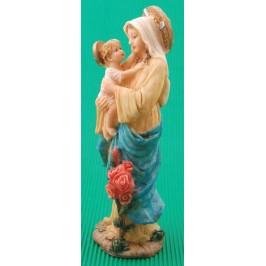 Декоративна фигурка - Божията майка с Младенеца на ръце