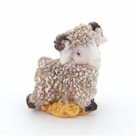 Сувенирна фигурка във формата на овца върху монети