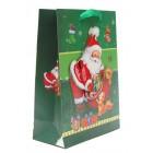 Тематична подаръчна торбичка с брокат и 3D елемент от изображението