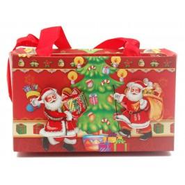 Тематична подаръчна торбичка, тип чантичка, с брокат и 3D елемент от изображението