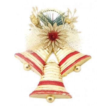 Тематична коледна украса с брокат за окачване