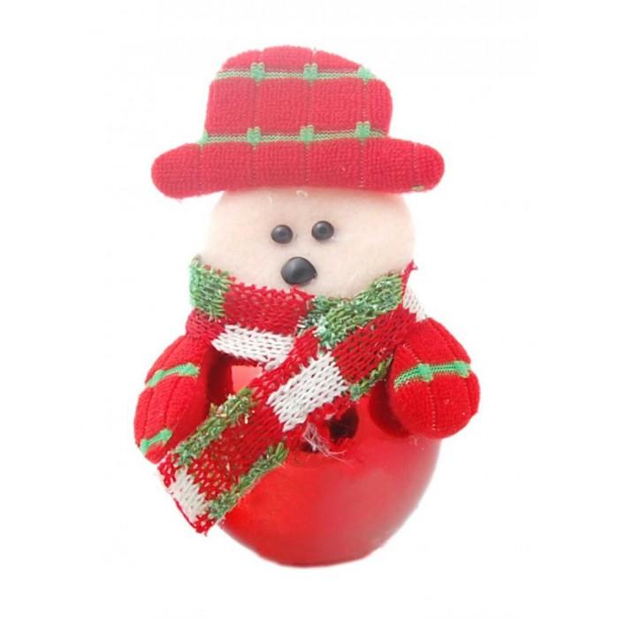 Коледна фигурка с топче за окачване на елха