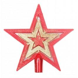 Декоративен коледен връх - звезди