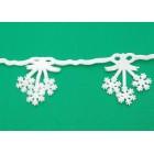 Коледна украса за прозорец - гирлянд с 6 бр