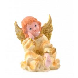 Сувенирна декоративна фигурка - красиво ангелче