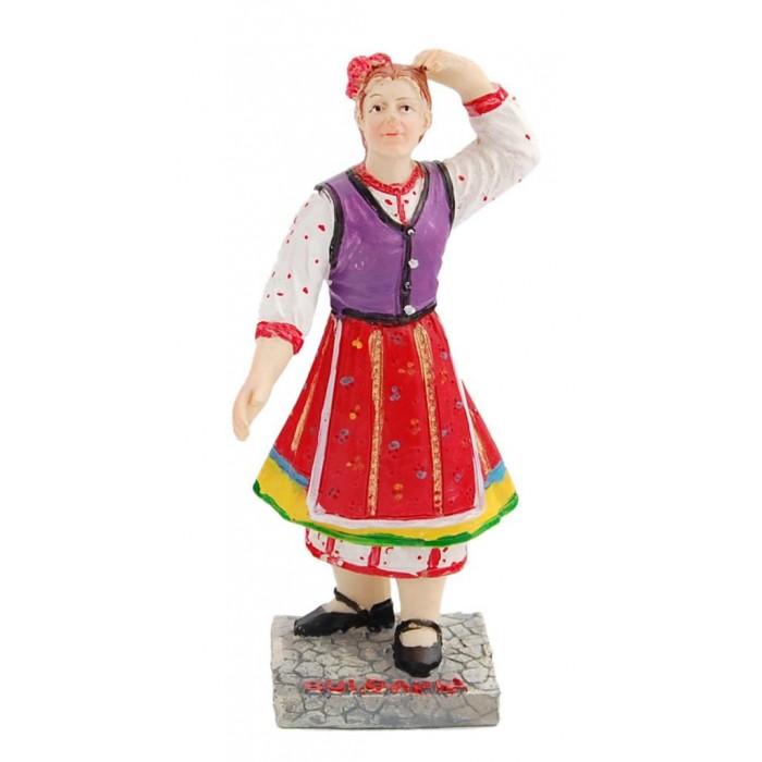 Декоративна фигурка във формата на жена в народна носия