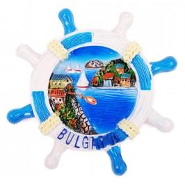 Сувенирна фигурка с магнит - рул с морски залив