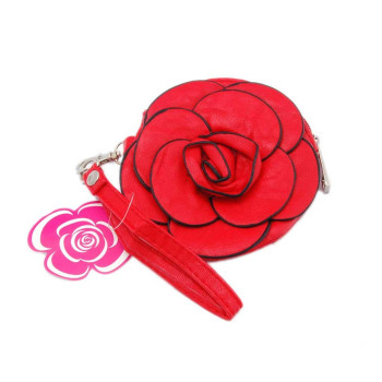 Портмоне във формата на роза - изкуствена кожа