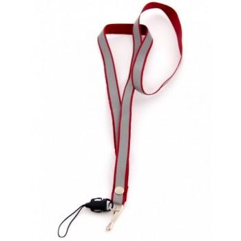 Връзка за врат за мобилен телефон светлоотразителна