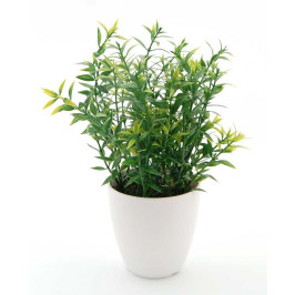 Декоративно цвете в саксия, изработена от PVC материал
