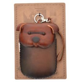 Портмоне за телефон с капаче във формата на прасе