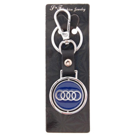 Автомобилен ключодържател с кръгла пластина - Audi