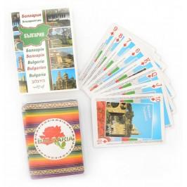 Сувенирни карти за игра - забележителности в България