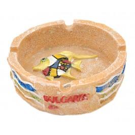 Сувенирен пепелник - рибка с надпис България