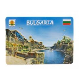 Сувенирна релефна магнитна пластинка - морски изглед, България