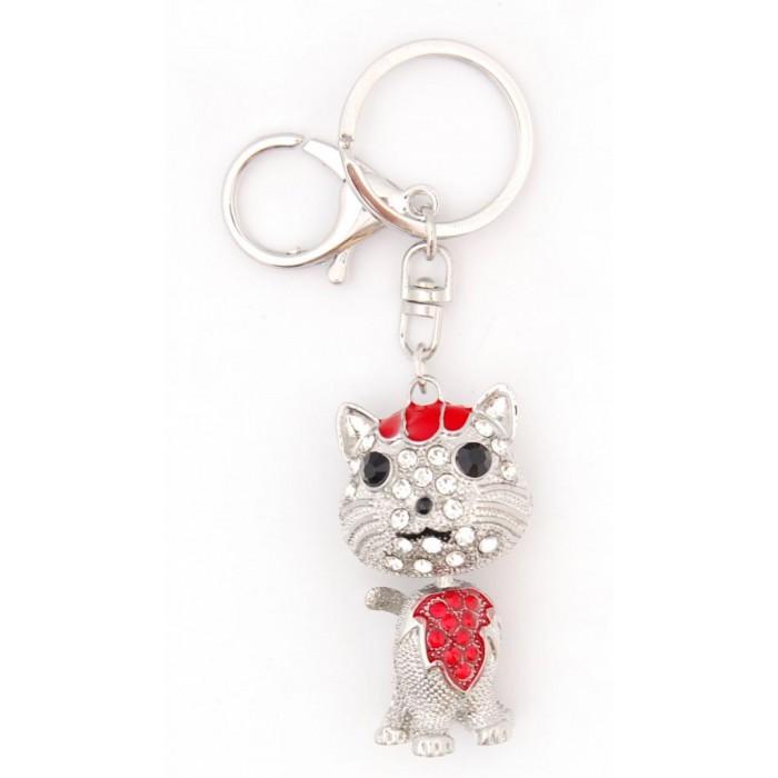 Ключодържател с фигурка - коте