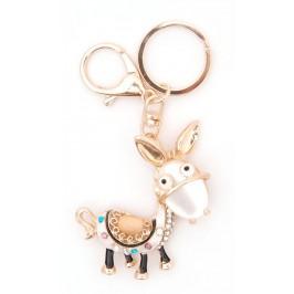 Ключодържател с фигурка - магаре със седло