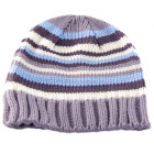 Младежка цветна плетена зимна шапка