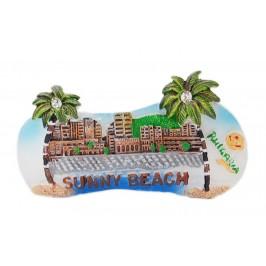 Сувенирна магнитна фигурка с палми - хотели в Слънчев бряг
