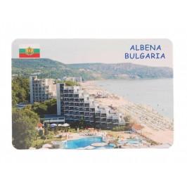 Сувенирна магнитна пластинка - плажове, Албена