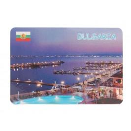 Сувенирна магнитна пластинка - плажове, България