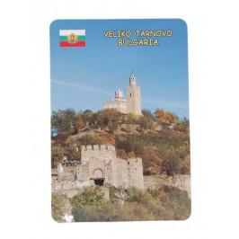 Сувенирна магнитна пластинка - Царевец, Велико Търново