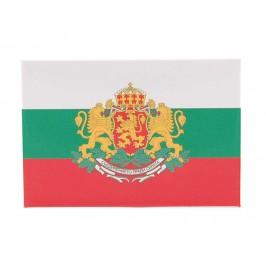 Неогъваща се магнитна пластинка - българския трикольор с герб