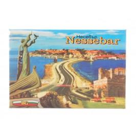 Неогъваща се магнитна пластинка - забележителности в Несебър