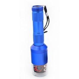 Метална мелничка за стриване на тютюн с батерии