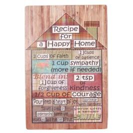 Ретро картина - къща с фрази на английски