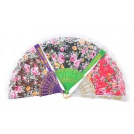 Сувенирно ветрило от PVC материал и текстил с цветен принт - флорани мотиви
