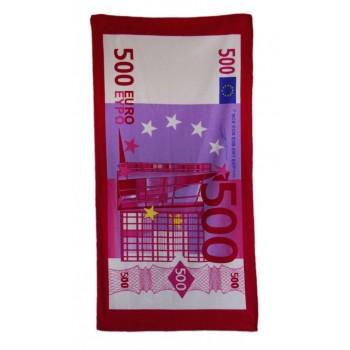 Плажна хавлия - банкнота 500 евро